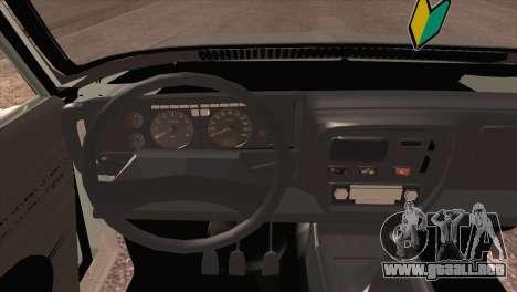 Peykan 80 Blackroof para GTA San Andreas vista hacia atrás
