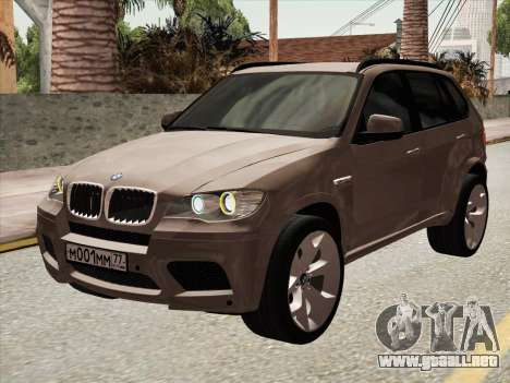 BMW X5M E70 2010 para GTA San Andreas left