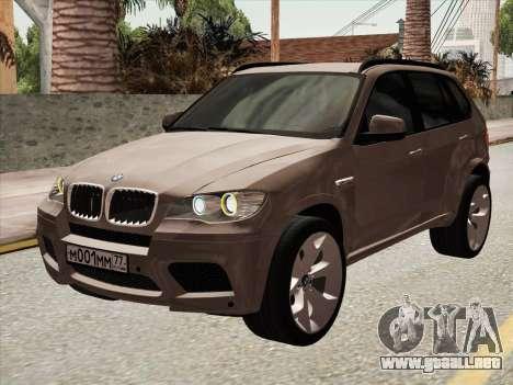 BMW X5M E70 2010 para GTA San Andreas left