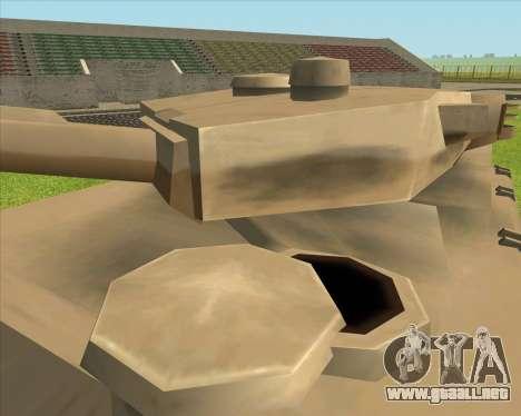 Rhino tp.Tiger para la visión correcta GTA San Andreas