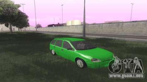 Chevrolet Corsa Wagon para GTA San Andreas vista hacia atrás