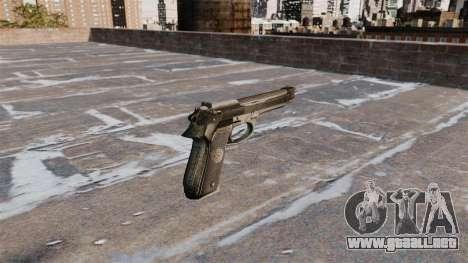 Auto-carga de la pistola Beretta 92FS para GTA 4 segundos de pantalla