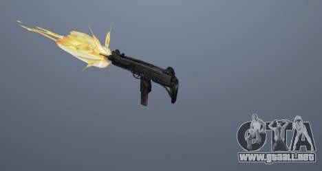 La subametralladora UZI para GTA San Andreas undécima de pantalla