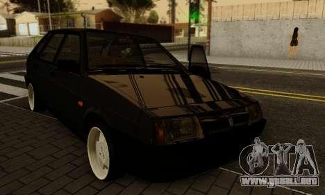 VAZ 2109 para la vista superior GTA San Andreas