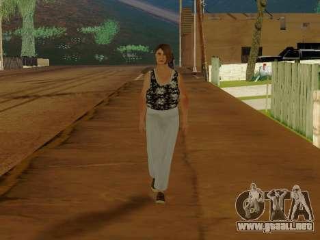 Una mujer de edad avanzada v.2 para GTA San Andreas segunda pantalla