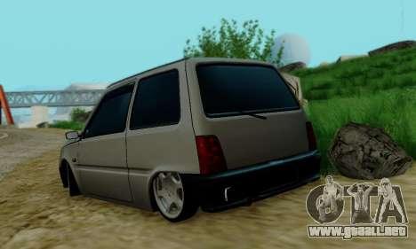 VAZ 1111 para GTA San Andreas vista hacia atrás