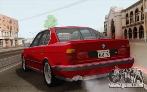BMW M5 E34 1991 NA-spec para la visión correcta GTA San Andreas