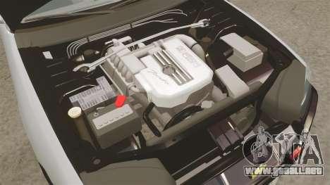 Nissan Skyline ER34 Police para GTA 4 vista interior
