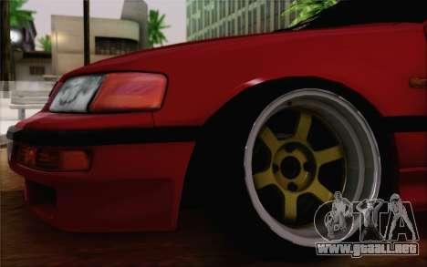 Honda CRX Low Gang para GTA San Andreas vista posterior izquierda