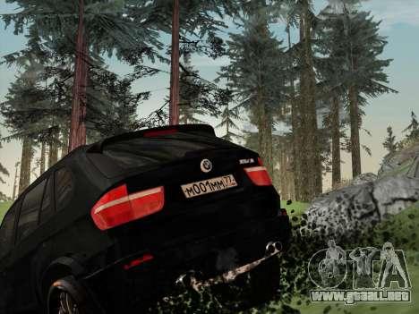 BMW X5M E70 2010 para vista inferior GTA San Andreas