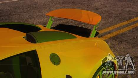 Bugatti Veyron 2009 para vista lateral GTA San Andreas