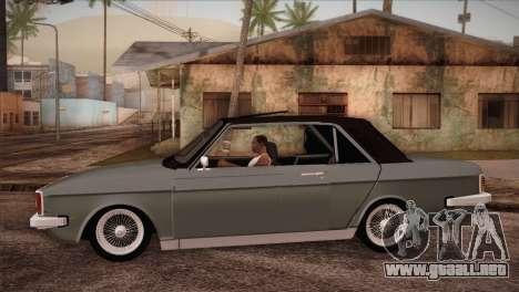 Peykan 80 Blackroof para GTA San Andreas left