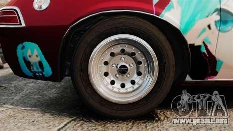 AMC Pacer 1977 v2.1 Mitchie M para GTA 4 vista hacia atrás