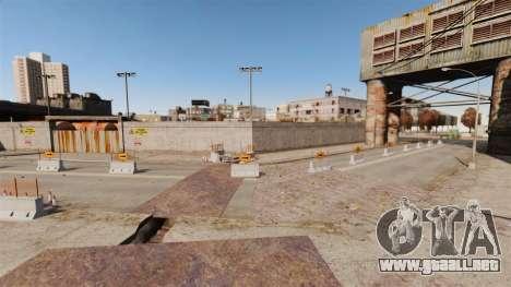 Off-road de pista v2 para GTA 4 octavo de pantalla