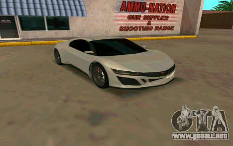 GTA V Dinka Jester para GTA San Andreas
