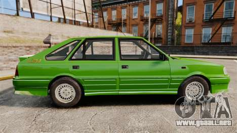 FSO Polonez Caro 1.4 GLI 16V para GTA 4 left