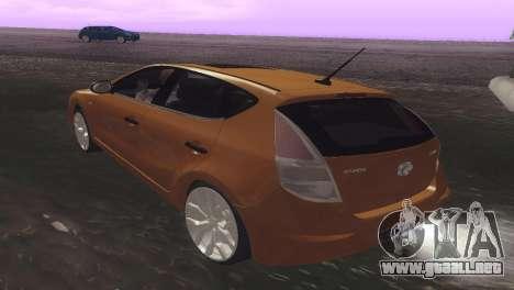 Hyundai i30 para la visión correcta GTA San Andreas