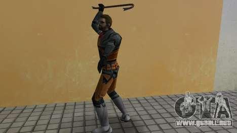 Gordon Freeman para GTA Vice City sucesivamente de pantalla