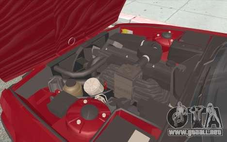 BMW M5 E34 1991 NA-spec para vista inferior GTA San Andreas