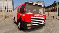 Húngaro camión de bomberos [ELS]