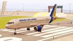 Airbus A320-200 Donbassaero para GTA San Andreas