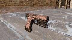 Pistola Glock 20 De Tigre Rojo para GTA 4