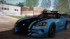 Dodge Viper SRT 10 ACR Police Car