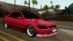 Lexus IS300 Tuning para GTA San Andreas