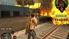 C-HUD Rastafari para GTA San Andreas
