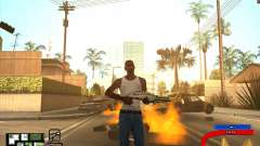 C-HUD by Mark Osborne para GTA San Andreas