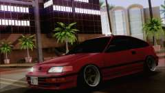 Honda CRX Low Gang