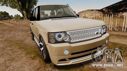 Range Rover Supercharger 2008 para GTA 4