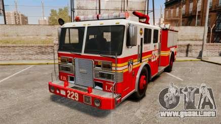 Fire Truck v1.4A FDLC [ELS] para GTA 4