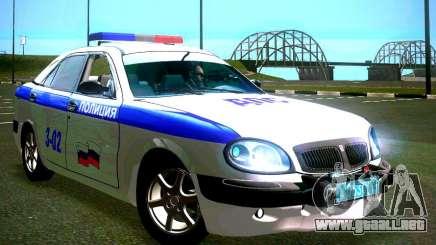 GAZ Volga 3111 DPS para GTA San Andreas