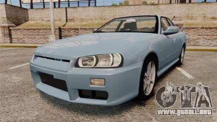 Nissan Skyline ER34 GT25 para GTA 4
