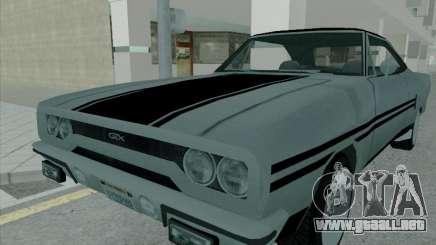 Plymouth Road RunneR GTX 1970 para GTA San Andreas