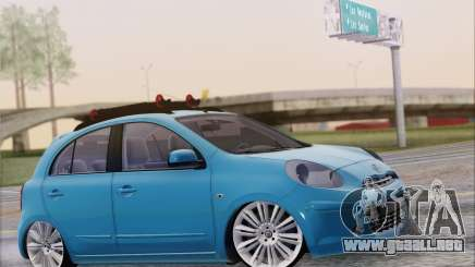 Nissan March para GTA San Andreas