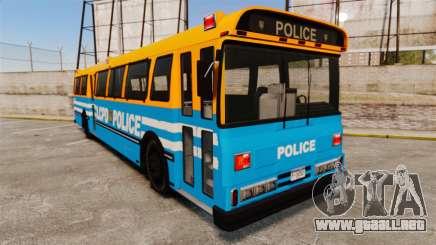 Brute Bus LCPD [ELS] v2.0 para GTA 4