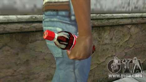 Coca Cola Grenade para GTA San Andreas tercera pantalla