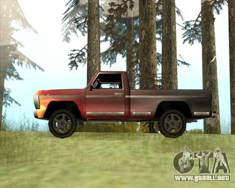 El Nuevo Jeep (Yosemite) para GTA San Andreas left