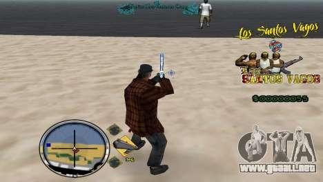 Vagos HUD para GTA San Andreas tercera pantalla