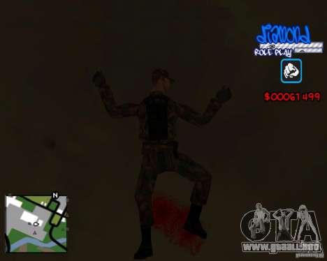 C-Hud Diamond RP para GTA San Andreas quinta pantalla