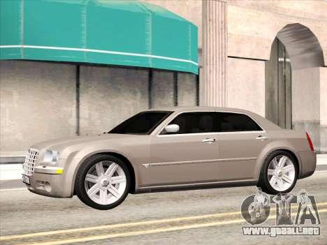Chrysler 300C 2009 para la visión correcta GTA San Andreas