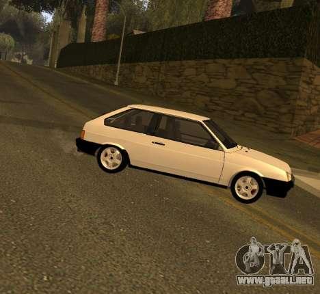 ВАЗ 2108 GVR Versión 2.0 para GTA San Andreas