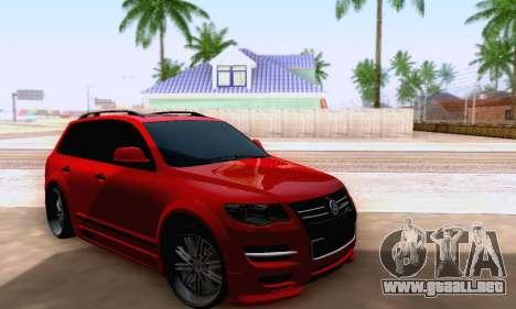 Volkswagen Touareg Mansory para la visión correcta GTA San Andreas