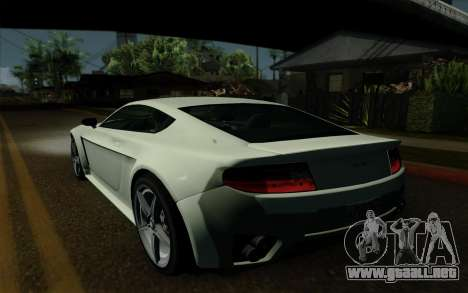 Rapid GT para vista lateral GTA San Andreas