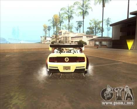 Ford Mustang GT из NFS MW para la visión correcta GTA San Andreas