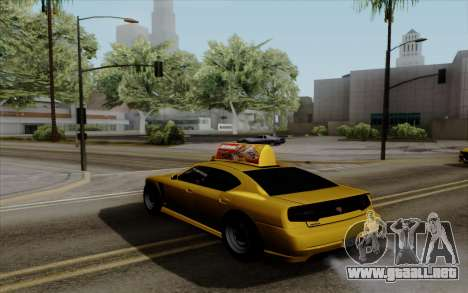 Buffalo Taxi para GTA San Andreas left