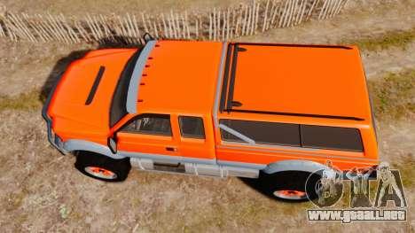 GTA V Vapid Sandking XL wheels v2 para GTA 4 visión correcta