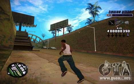 C-HUD Tawer Gitto para GTA San Andreas